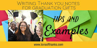 graduation thank you notes thank you notes for graduation gifts money tips and exles