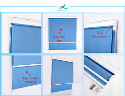 Dual Day And Night Roller Blinds Roller Blinds Wholesale Best Day And Night Use Blackout Dual