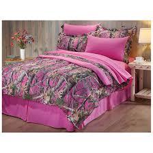camouflage bedrooms castlecreek next vista pink camo bed set 8 piece pink camo bed