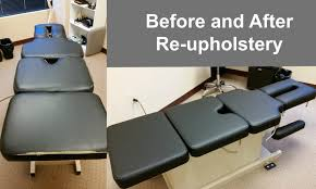 table upholstery for massage therapists chiropractic table upholstery repair