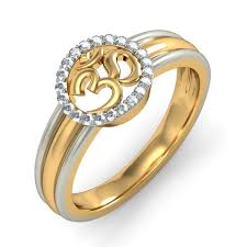 gold rings design for men the om ring bluestone