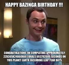 Big Bang Theory Birthday Meme - new big bang theory birthday meme happy birthday from sheldon
