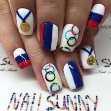 92 best olympic nail art images on pinterest nail art nails