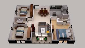 3d Floor Plan Design Services Portfolio House Plan Designs In 3d