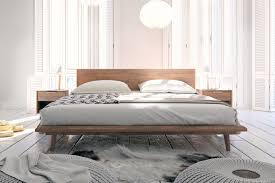 asher bed mid century modern bed rove concepts