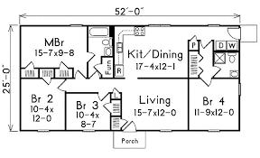 1300 square foot house plans 1300 sq foot floor plan 1300 square feet 4 bedrooms 2 batrooms