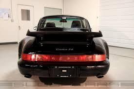 porsche 964 ducktail 1994 porsche 964 turbo 3 6 black 10 922 miles sloan cars