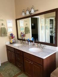 Glacier Bay Bathroom Cabinets Our Master Bath Vanity Upgrade Countertops Silestone Arabesque