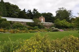 inside the walled garden picture of wallington hall morpeth