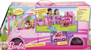 barbie cars with back seats barbie sisters deluxe camper sisters deluxe camper shop for