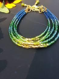 Handmade Seed Beaded Gold Plated Best 25 Beaded Bracelets Ideas On Pinterest Seed Bead Bracelets