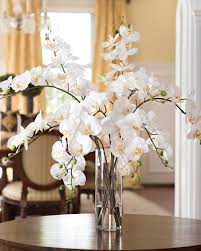 stylish grand phalaenopsis orchid artificial flower design at petals