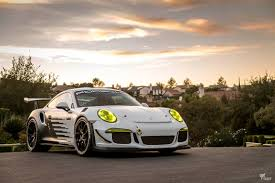 porsche gt3 rs yellow yin yang theme super cars protective film solutions