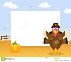 thanksgiving turkey funny pics turkey thanksgiving horizontal frame stock vector image 45347260
