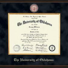 clemson diploma frame oklahoma diploma frame excelsior graduation gift