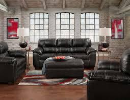 King Koil Sofa Pc Austin Black Sofa U0026 Love Set
