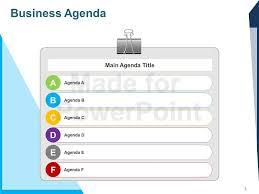 agenda ppt template eliolera com