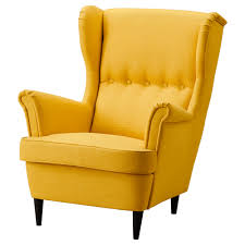 Small Armchairs Ikea Strandmon Wing Chair Skiftebo Yellow Ikea