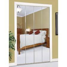 Mirrored Bifold Doors For Closets Slimfold Series 4900 Bifold Mirror Closet Door By Dunbarton