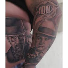 Al Capone Tattoos Tatu Baby Tattoos Heisenberg Alcapone Done With Fkirons