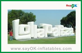 Outdoor Inflatables Outdoor Advertising Letter For Sale