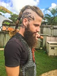 ragnar lothbrok hair my ragnar lothbrok from vikings cosplay imgur ragnar hair