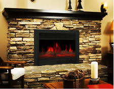 Realistic Electric Fireplace Electric Fireplace Logs Ebay