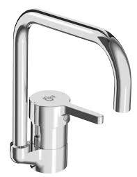 rubinetti miscelatori cucina miscelatore lavello ideal standard attract cromo bocca alta