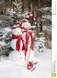 Snowman Lawn Decorations Snowman Couple In Love Christmas Outdoor Decoration With Snow