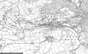 map of rothbury maps of the rothbury area francis frith
