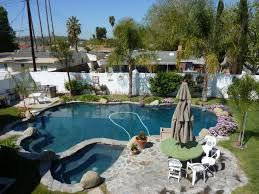 Free Backyard Landscaping Ideas by Perfect Free Formed Swimming Pool Design With Simple Rock