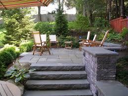 Stone Patio Design Outdoor Stone Patios Garden Design