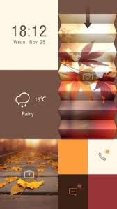 go locker apk free free autumn theme go locker apk free personalization