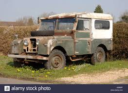 land rover series 1 hardtop land rover series one uk stock photo royalty free image