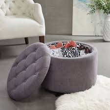 Oversized Ottoman Coffee Table Sofa Cowhide Ottoman Storage Ottoman Bench Tufted Ottoman Coffee