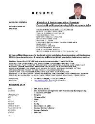ironworker resume noli updated resume