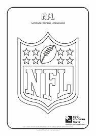 nfl logo coloring pages football coloring pages sheets for kids