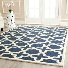 Geometric Outdoor Rug Area Rugs Popular Kitchen Rug Indoor Outdoor Rug In Blue And Ivory