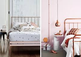 Rose Gold Bed Frame Design Olympics Our Favorite Gold Silver And Bronze Rooms