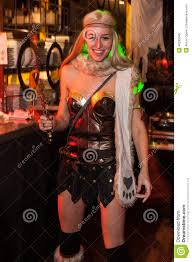 halloween event nyc new york ny october 31 guests in mascaraed costumes posing at