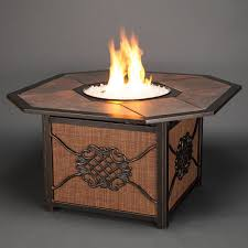 Agio Haywood by Amazon Com Agio Willowbrook Gas Fire Pit With Copper Reflective