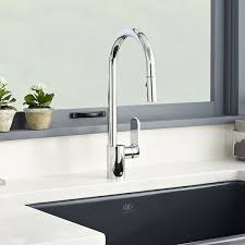 kitchen faucet chrome pull faucets isle kitchen faucet from dxv