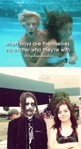 When Boys Meme - when boys are themselves