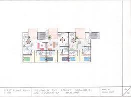3 storey commercial building floor plan two storey commercial and residential building my assessment 3 first