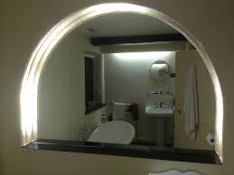 Bathroom Mirror With Shelf by Bathroom Enchanting Round Bathroom Mirror With Integrated Mirror