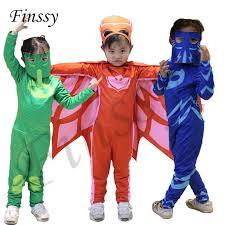 Birthday Suit Halloween Costume Aliexpress Buy 2017 Pj Masks Birthday Party Dress Pj