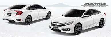 honda custom car honda launches stylish civic rs turbo modulo in the philippines