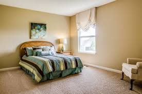 bedroom neutral paint guest room floor plan model home