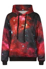galaxy sweater galaxy print sleeve hooded sweatshirt beautifulhalo com