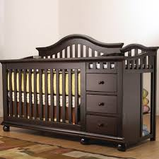 Convertible Cribs With Attached Changing Table Cribs With Attached Changing Table Dresser Baby And Combine